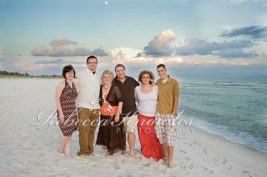Panama City Beach Florida family group photographer