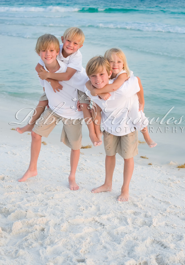 Seacrest Rosemary Beach Family Photographer