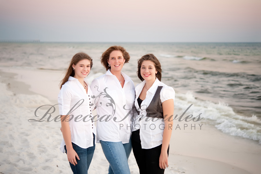 Panama City Beach Destin beach family portrait photographer