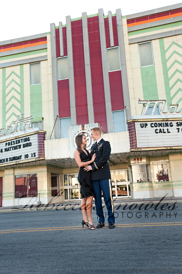 Panama City Downtown Engagement Portrait Photographer