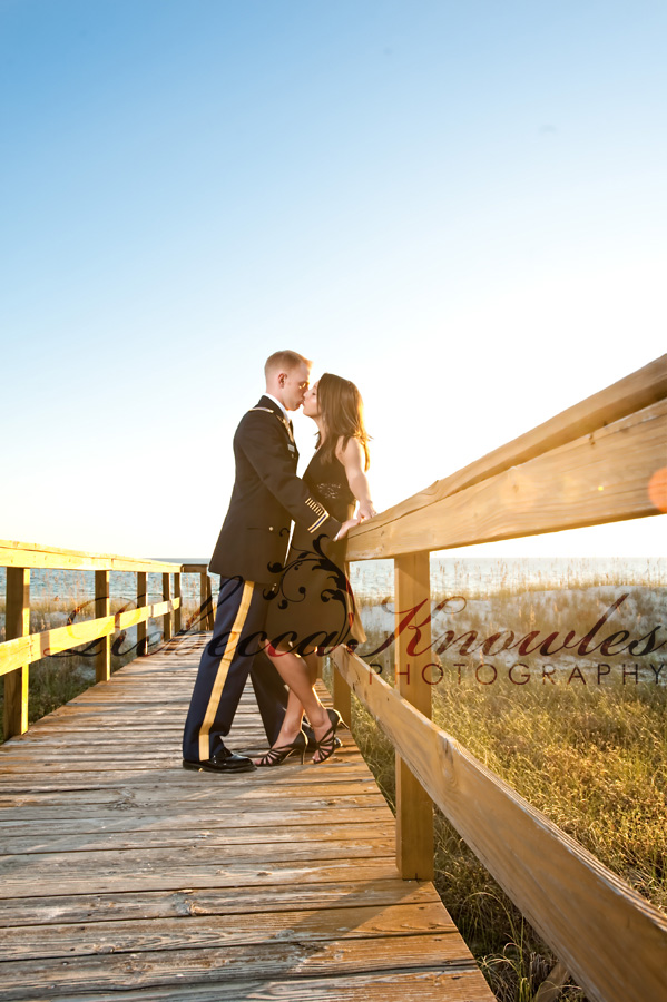Panama City Beach Military Engagement Portrait Photographer