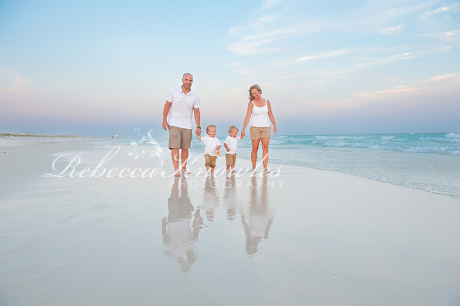 Destin Beach family children's portrait photography