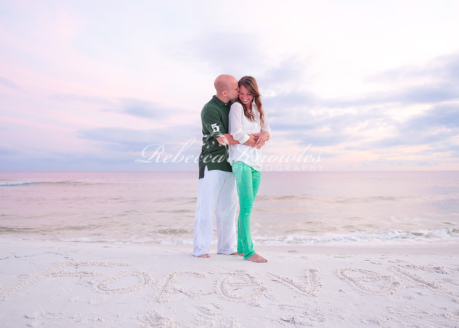 30a beach engagement portrait photographers