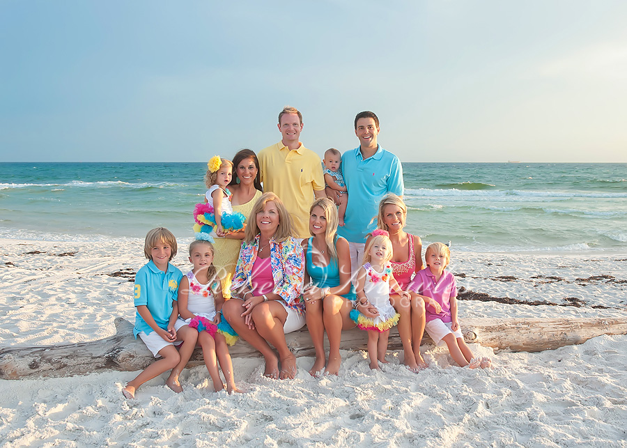 Panama City Beach family portrait photographers