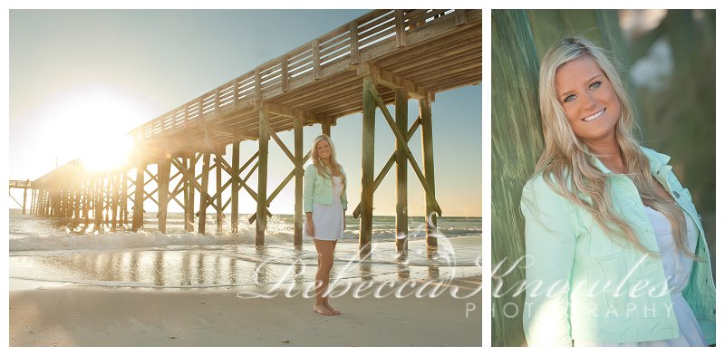 Panama City Beach 30a senior portrait photographers