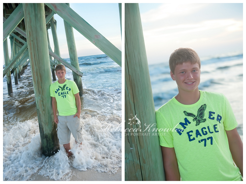Alabama beach senior portraits
