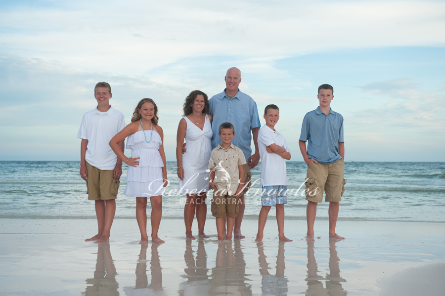 alabama beach family portraits