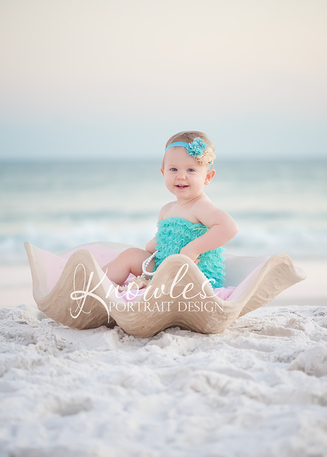 Destin Beach Baby Child Photographer
